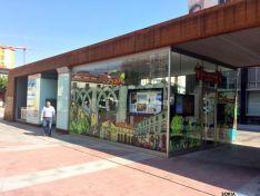 Oficina municipal de turismo en Mariano Granados. /Ayto.