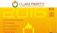 Cartel de la primera Lan Party de Ólvega (Soria).