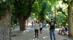 'Pokequedada' de esta tarde en el parque de la Dehesa, Soria.