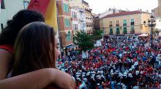 Pregón de fiestas de La Juventud en Ágreda, Soria / Pedro Calavia.