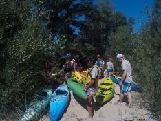Interés y buen ambiente en el descenso del Duero.