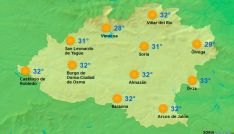 El tiempo en Soria. / www.tutiempo.net.