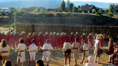 Representación de 'La Caída de Numancia' en Garray