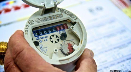 Un contador de consumo de agua. / SN