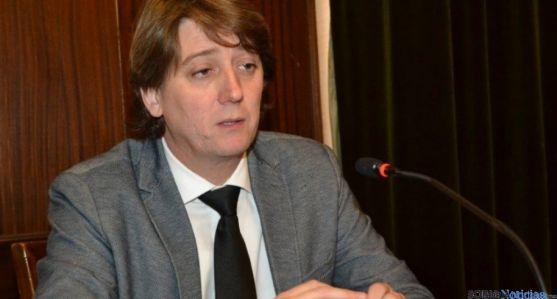 Imagen de archivo de Carlos Martínez, alcalde de Soria.