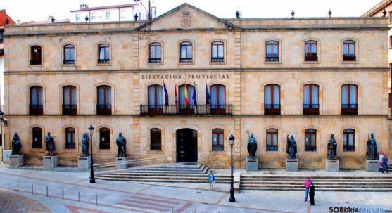 El Palacio Provincial de la Diputación./SN