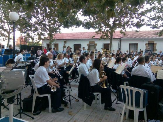 La Banda de Música, en concierto.