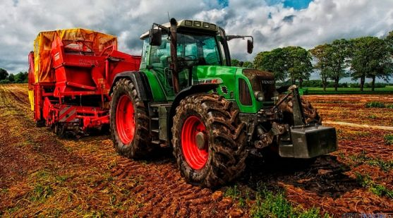 Imagen de maquinaria para la agricultura.