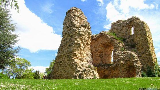 Restos del castillo de Soria