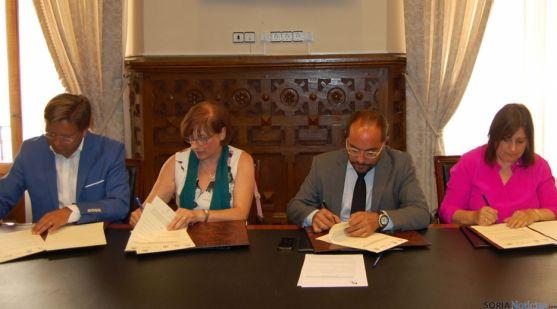 Convenio de la Diputación de Soria y los grupos de Acción Local.