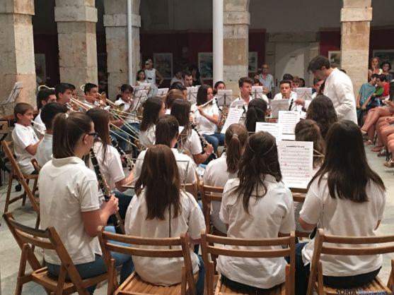 Concierto de la Banda Joven. /Ayto. El Burgo