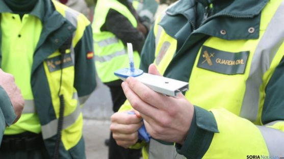 Guardia Civil en un control anti-droga