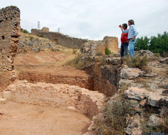Ábside de San Ginés, descubierto junto a la muralla. /Ayto.