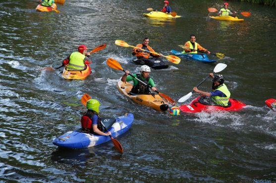 El kayak-polo es un deporte en auge. /Celtykayak.