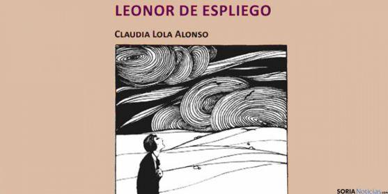 Portada del poema 'Leonor de espliego', de Claudia Lola Alonso.