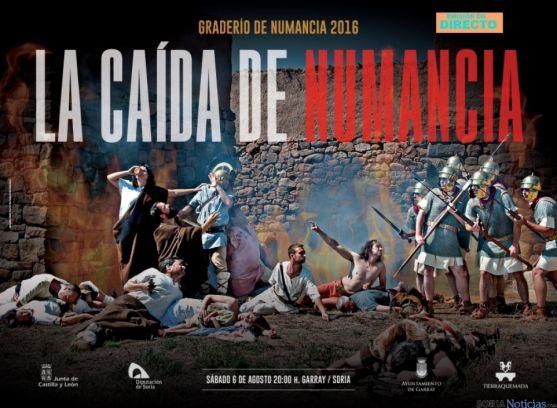'La Caída de Numancia' supone el fin del ciclo de las representaciones. /Tierraquemada