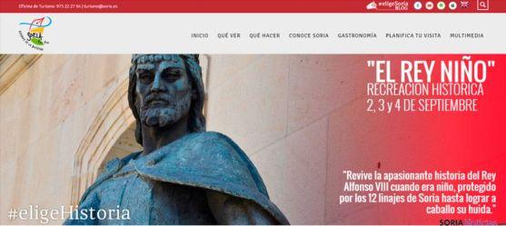 Nueva web de turismo www.turismosoria.es