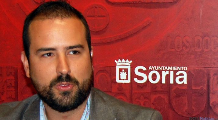 El concejal de deportes, Ángel Hernández./Ayto.
