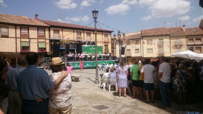 Imagen de la plaza estas fiestas./SN