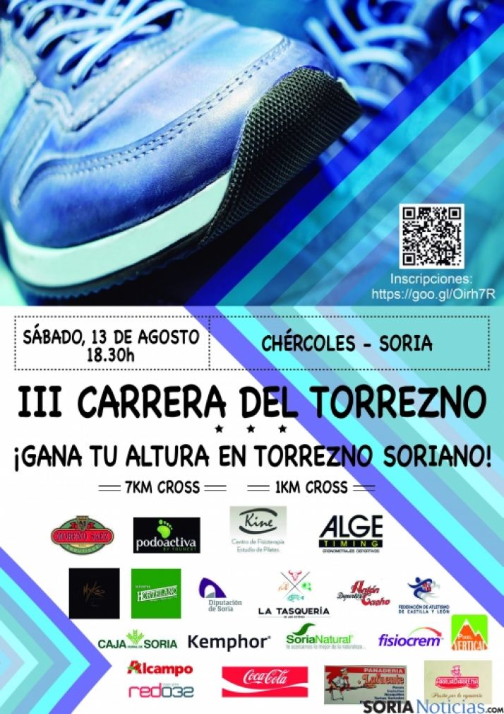 Foto 1 - Chércoles celebra la III Carrera del Torrezno