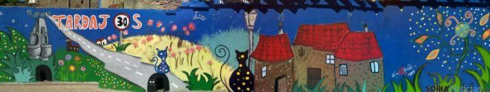 Imagen de la pintura mural de Tardajos de Duero. /SN