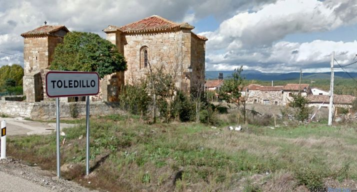 Vista parcial de Toledillo, núcleo perteneciente al municipio capitalino./GM