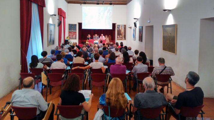 Curso sobre etnología en Ágreda. /Dip.
