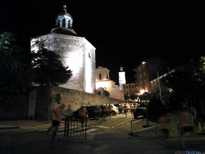 Carrera nocturna en Almazán.