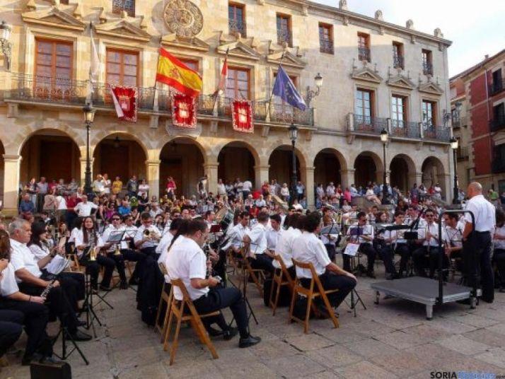 Banda Municipal de música de Soria en una imagen de archivo.