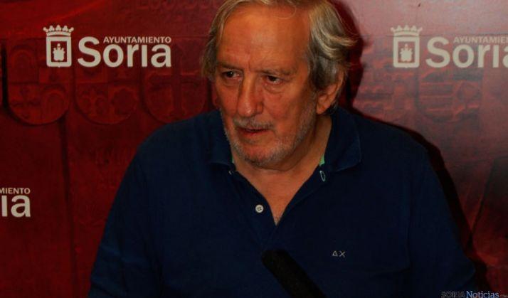 Bárez, durante la presentación a los medios del festival 'Tendencias'.