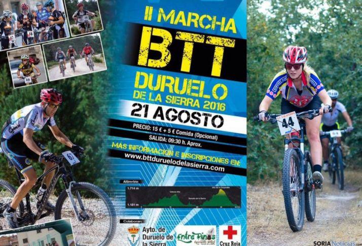 II Marcha de Montaña BTT Duruelo de la Sierra (Soria).