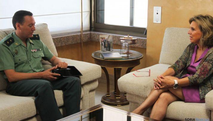 En la imagen, Mariano Ruiz Berdejo y María José Salgueiro Cortiñas.