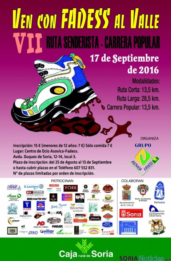 Foto 1 - Comienza el plazo de inscripción para la VII Carrera Popular 'Ven con Fadess al Valle'