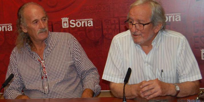 De izda. a dcha.: Javier Álvarez y Jesús Bárez.