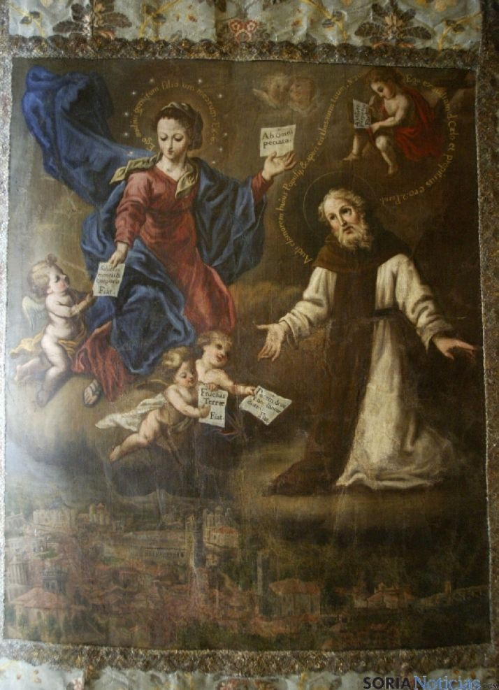 Estandarte de San Saturio.