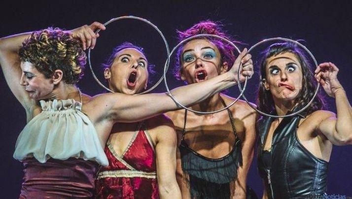 Uno de los grupos de la feria de teatro de 2016.
