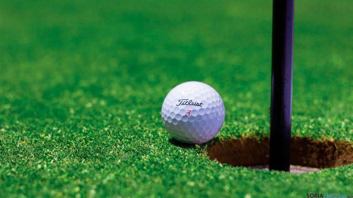 XI Campeonato de golf en Pedrajas, Soria.