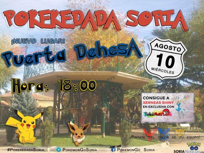 Pokémon Go en Soria.