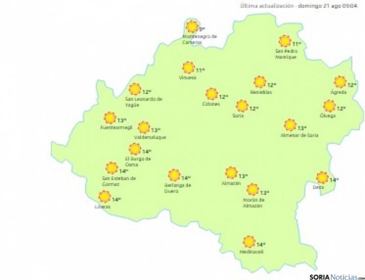 Foto 1 - Máxima entre 26 y 30 grados este domingo