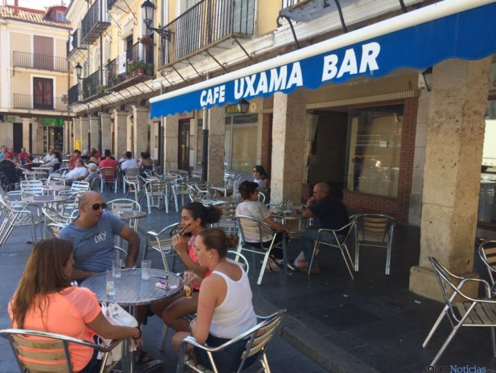 Bar Uxama, en El Burgo de Osma, Soria.