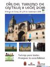 Cartel Día del Turismo en Castilla y León en El Burgo de Osma.