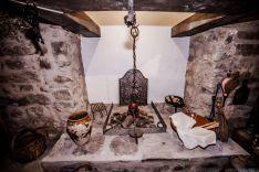 Recreación de una cocina antigua en Valdeavellano de Tera. /David Almajano