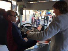 Nueva flota de autobuses urbanos en Soria.