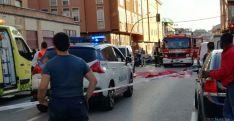 Imagen del lugar tras el trágico suceso. / SN