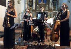 'Cuerdas al Viento', en un concierto./SN