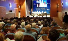 Una imagen de la presentación este viernes en el centro cultural San Agustín, en El Burgo. / SN