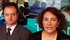 La consejera de Turismo con el alcalde Burgense. / SN