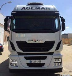 Camión robado en Salamanca./JDC
