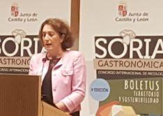 La Consejera de Cultura en Soria
