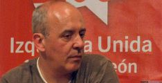Enrique García, de IU. / SN